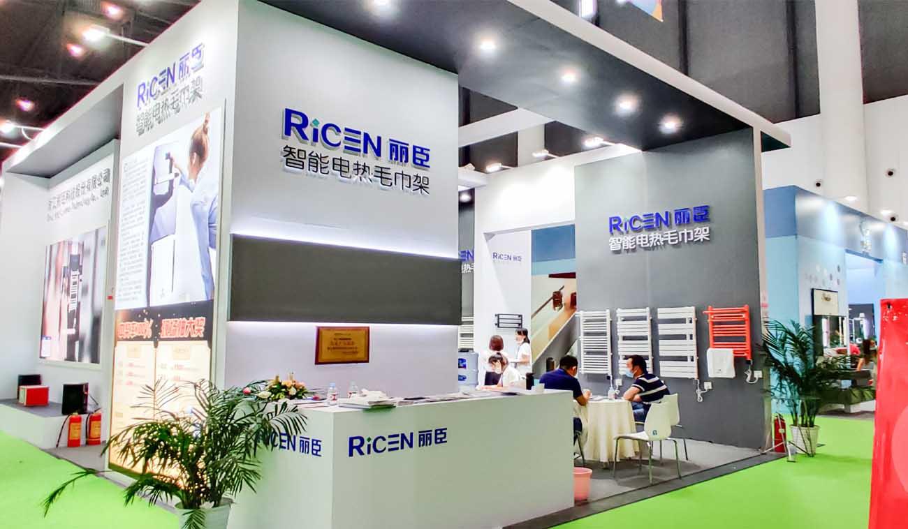 Ricen 20th CCBD heated towel warmer show